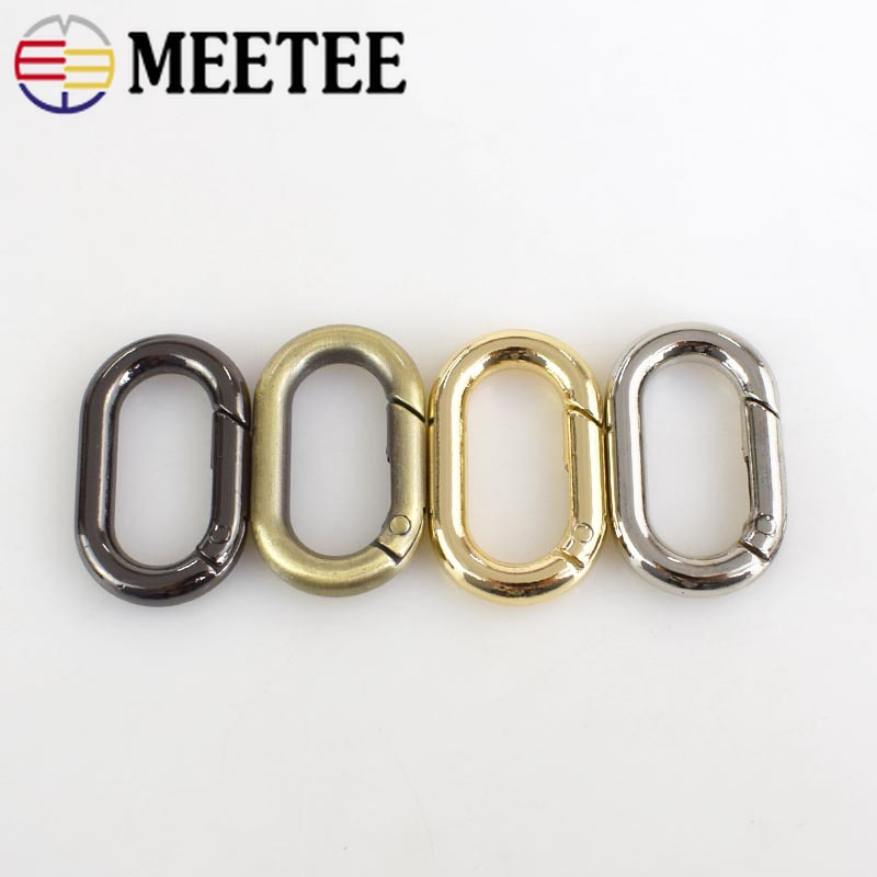 O Rings metal Seamless buckle Hardware Bags 15 20 25 30 33 40 48 50 60 65 70mm