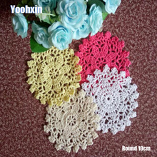 Modern Lace Round cotton table place mat pad Cloth crochet placemat cup mug tablecloth tea coaster handmade dining doily kitchen hot lace round cotton table place mat dining pad cloth crochet placemat cup mug tablecloth tea coaster handmade doily kitchen