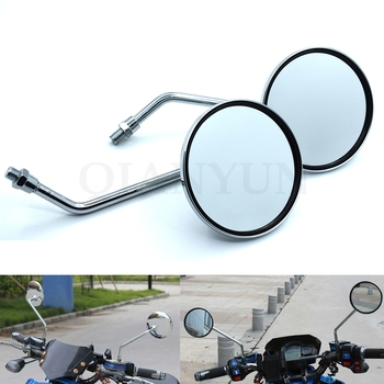 Universal Motorcycle Back Side Mirrors Motorbike Rear View Mirror For BMW K1600 K1300 K1200R K1200S R1200RT R1200ST R1200GS image