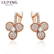 Xuping модные серьги, Лидер продаж, высокое качество, европейский стиль, очаровательный дизайн, позолоченные ювелирные изделия, S47-90012