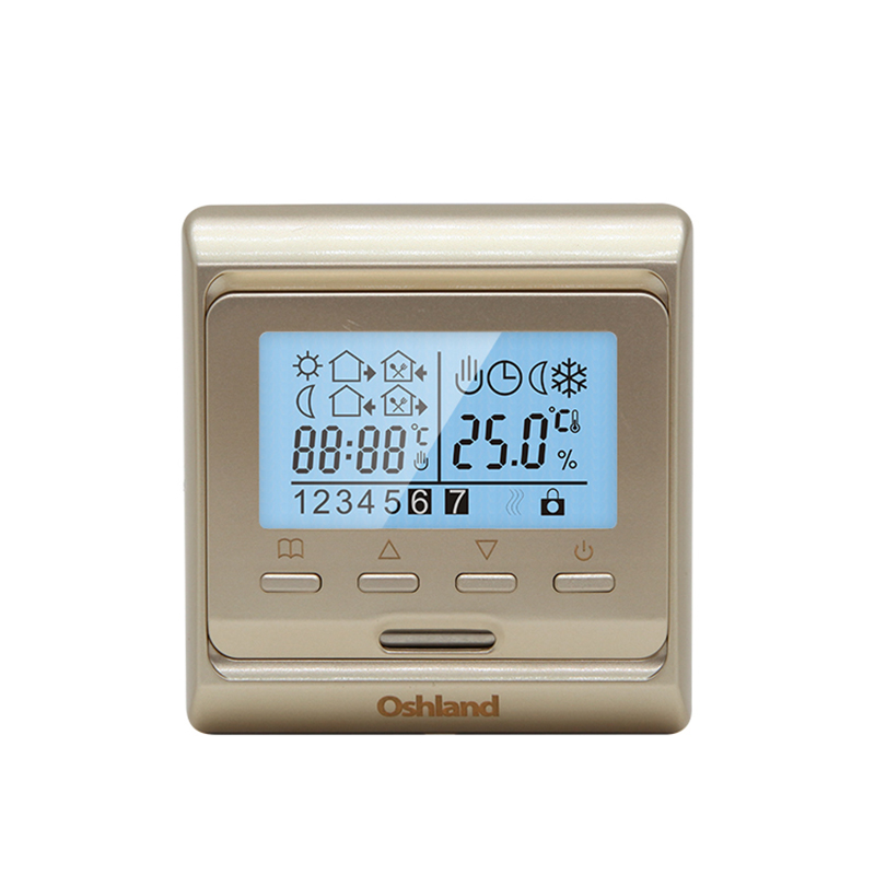 Free Shipping LCD Digital Heating Thermostat 16A Weekly Programmable Temperature Controller For HVAC System