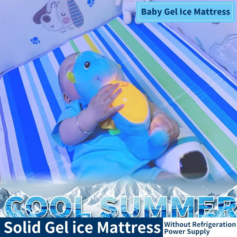 Summer cooling baby carrier,ice cushion baby carriage, cooling cushion safety chair, gel ice mat, cartoon cool mat.