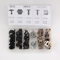 60 Engine Protection Pan Hardware Kit Pin Clip Nut Fit For Audi A4 S4 VW Passat