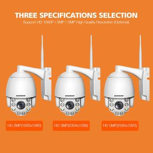 Image 5 - 5X Optical Zoom Wireless PTZ IP Camera Wifi 1080P 5MP Two Way Audio Outdoor Video Surveillance Home Security Camera P2P CamHi