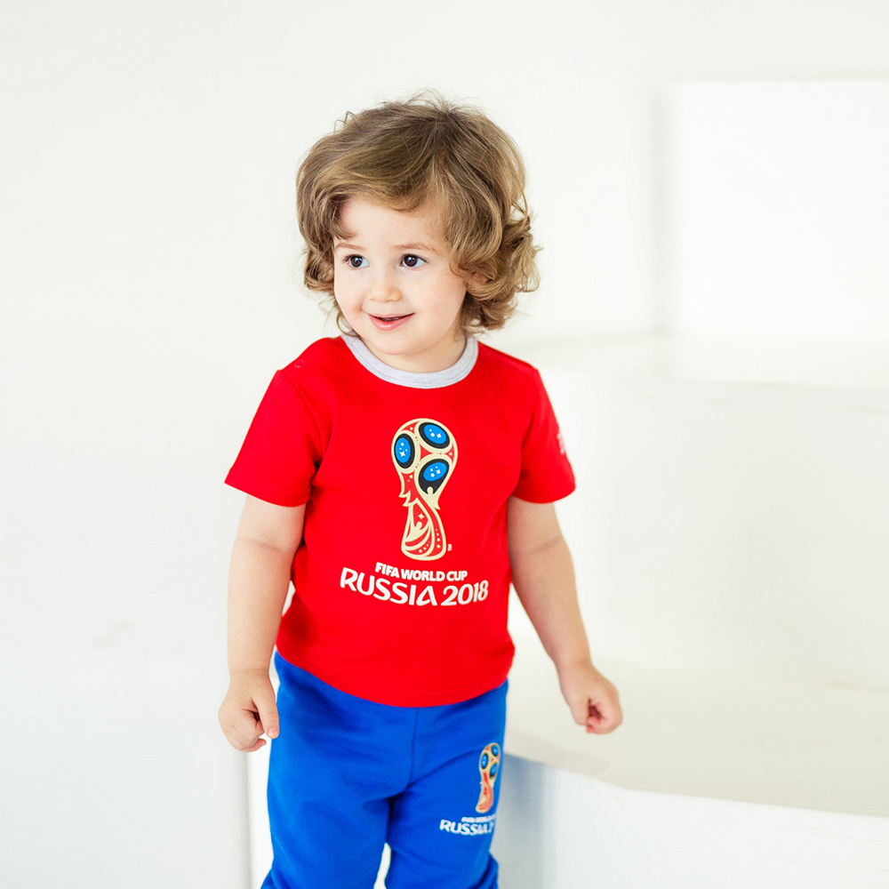T-Shirts FIFA WORLD CUP RUSSIA 2018 for girls and boys F1-26 (24M) T Shirt Children clothes plus size bird and floral print v neck long sleeve t shirt