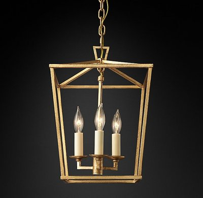 American 4-head Chandelier Foreign Trade Original Single Retro Pendent Lamps Dining Room Chandelier Reference Lamp etc