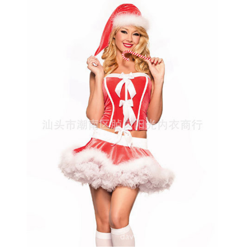 Sexy santa costume for women