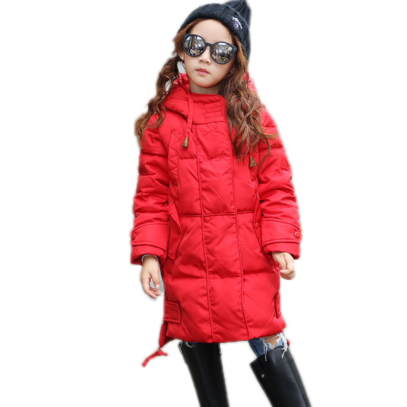 Boys Girls Coats Winter 2017 New Girls White Duck Down Jackets Kids Boys Warm Down Coats Children Winter Outerwear -30 Degree new winter girls boys down jackets baby kids long sections down coats thick duck down warm jacket children outerwears 30degree