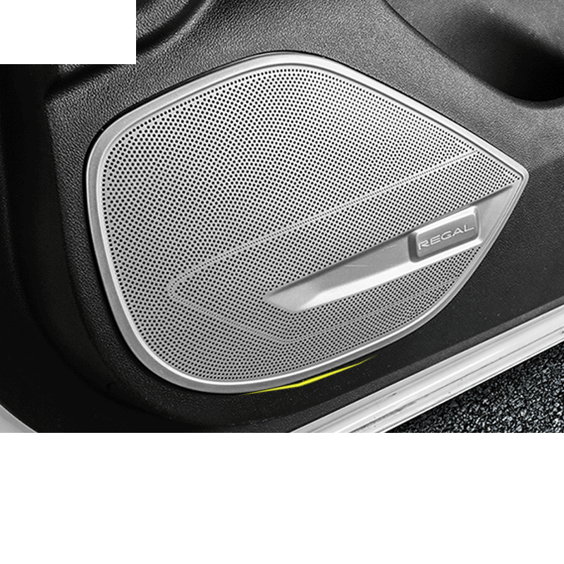 Lsrtw2017 Stainless Steel Car Inner Door Sound Player Cover for Buick Regal Opel Insignia 2018 2019 2020Lsrtw2017 Stainless Steel Car Inner Door Sound Player Cover for Buick Regal Opel Insignia 2018 2019 2020