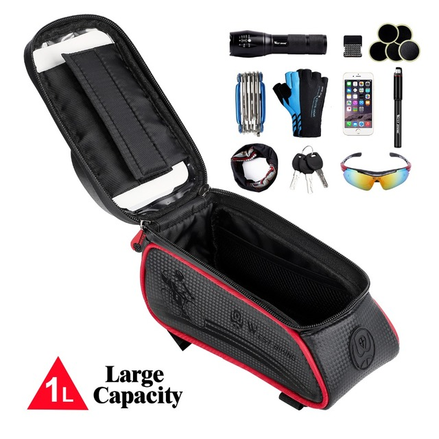 Waterproof Cycling Front Tube Bag