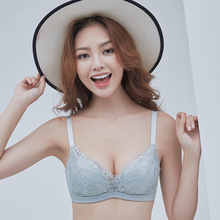 bras for women No trace atrium autumn winter new sexy lace gathered without steel ring adjustment bra soutien gorge 85A 85B