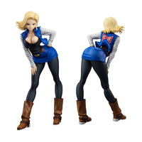 20cm Dragon Ball Z Figures Android 18 Lazuli Sexy Anime PVC Action Figure New Collection Toys