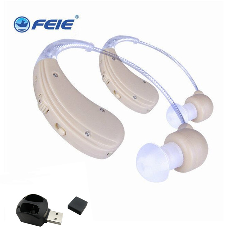 Free shipping hearing aid ear aid rechargeable invisible S-109S prices of medical supplies feie mini rechargeable hearing aid usb charger computer ajustable tone ear listen device s 109s drop shipping