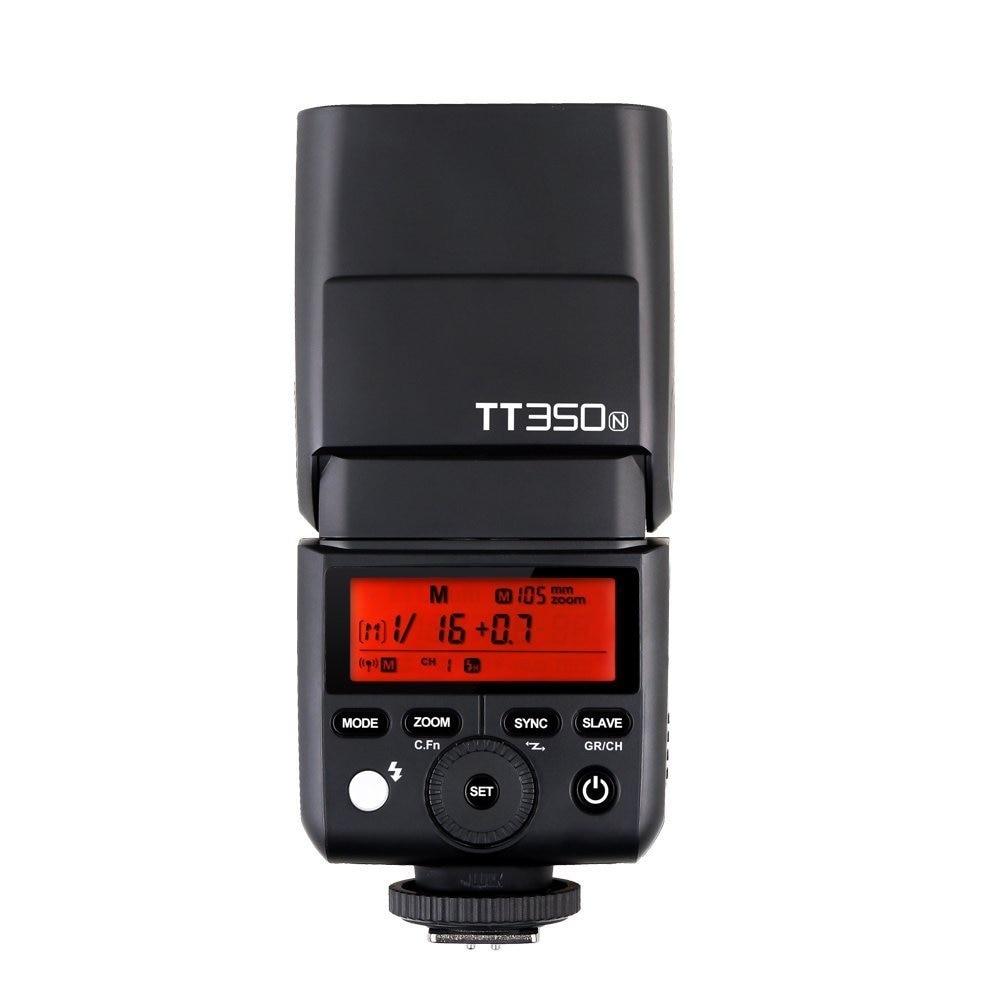 2x Godox Mini Speedlite TT350N 2.4G HSS 1 / 8000s TTL GN36 kaamera - Kaamera ja foto - Foto 2