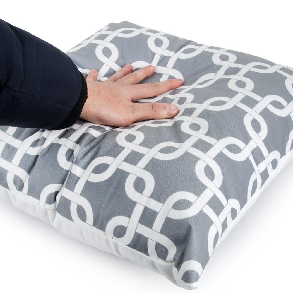 Topfinel geometric cushion cover cheap grey pillow for Cheap gray throw pillows