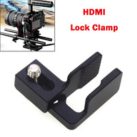 OMESHIN HDMI Clamp Cable Clamp HDMI Lock Clamp For Sony A6500 /A6300 /A6000 Camera DSLR Camera Cage Photography Kit Rig #C0604