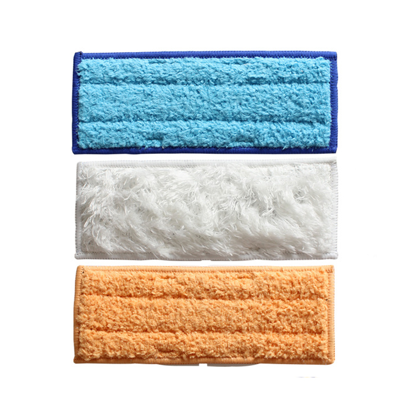 High Quality 3pcs/Lot Microfiber Washable wet & damp & dry sweeping Pad mopping pads for iRobot Braava Jet 240 Free Post microfiber wet room pads 24 in long split nylon polyester blend blue