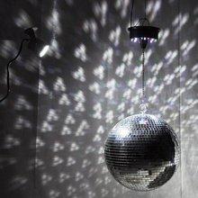 Большой Стеклянный зеркальный диско-шар DJ KTV бар вечерние светильник для сцены прочный светильник ing диско-шар светоотражающий светильник стеклянное зеркало с диско b