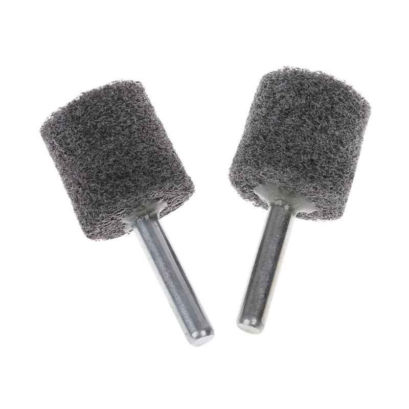 10pcs Nylon Fiber Grinding Head For Polishing Grinder Abrasive Rotary Tools 6mm