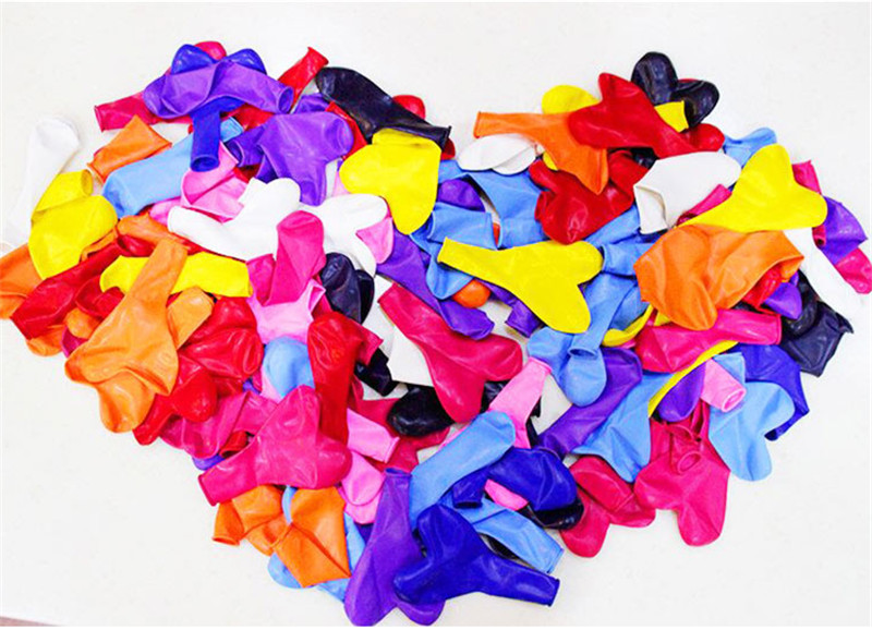 10Pc Love Heart Latex Helium Balloon For Wedding And Valentine Day Celebration 10