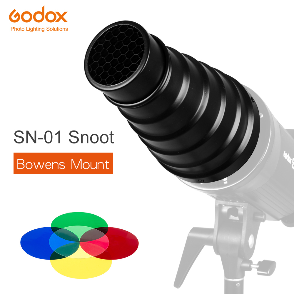 GODOX SN-01 Bowens Mount large Snoot Professional Studio light Fittings