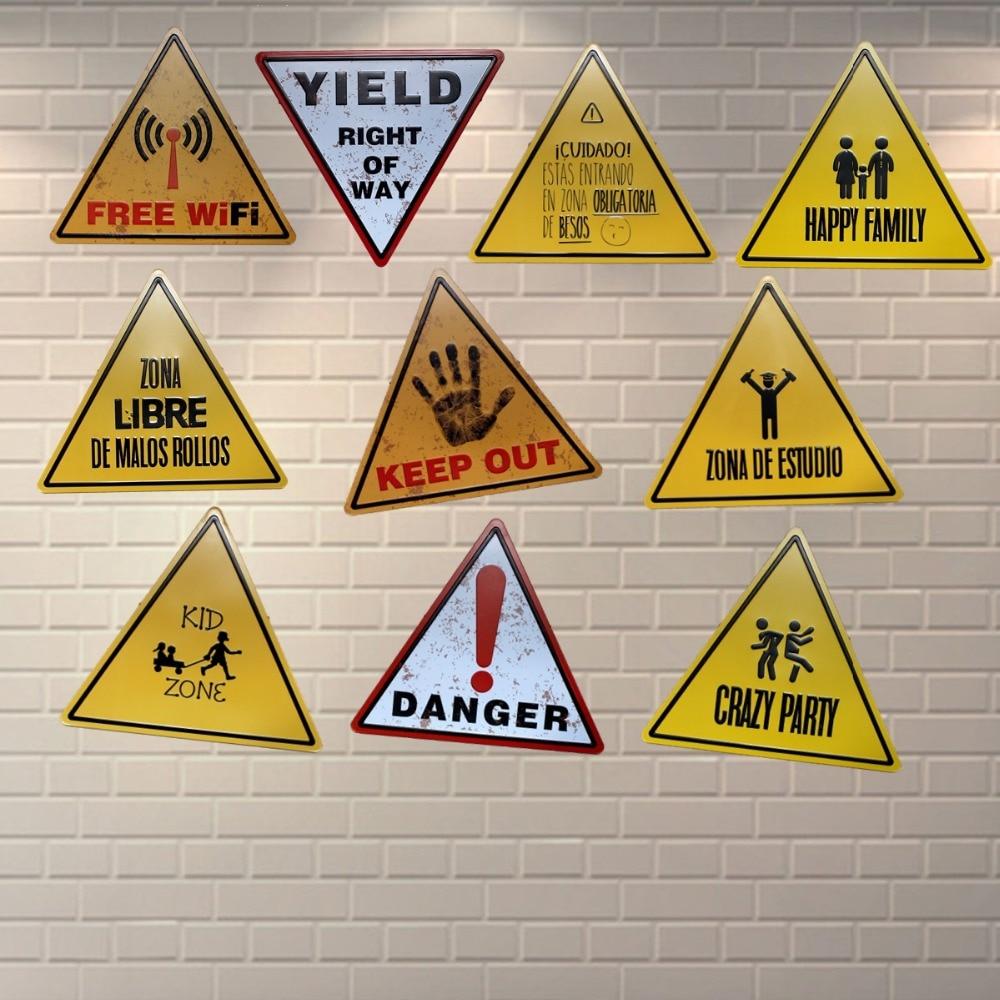 Δωρεάν Wifi Κίνδυνος Μεταλλικά - Διακόσμηση σπιτιού - Φωτογραφία 2