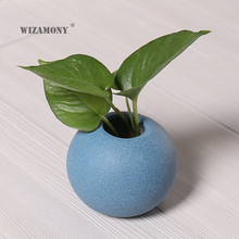 New Arrival Europe Style Vases Retro brickware terra-cotta Ceramic Modern Tabletop Flower Vase for Home Decoration