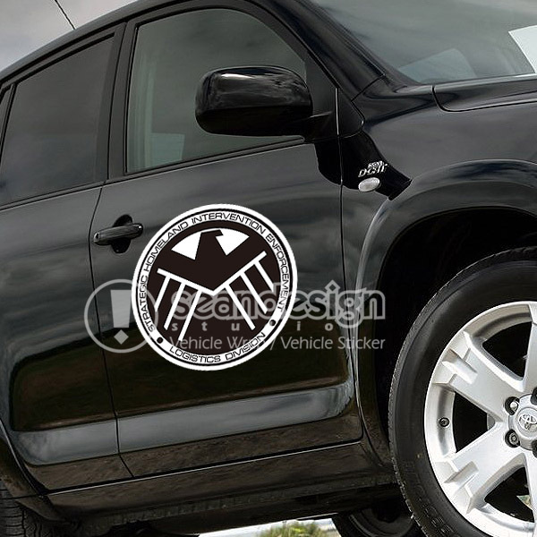 Avenger agents of shield car suv auto vinyl decal stickers in car stickers from automobiles motorcycles on aliexpress com alibaba group