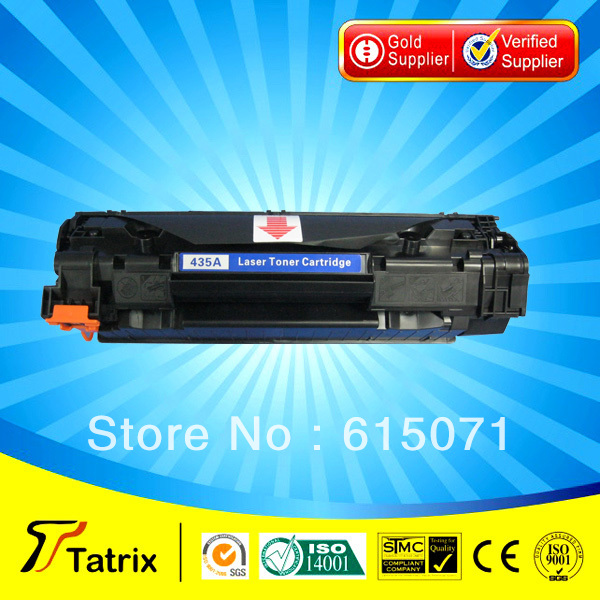 ФОТО Black CB435A Toner Cartridge Compatible CB435A Cartridge Toner for HP Free Shipping