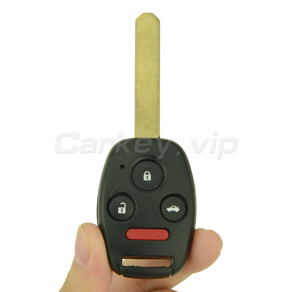 Remotekey дистанционного глава ключевые OUCG8D-380H-A для Honda Accord 2003 2004 2005 2006 2007 3 Кнопка с Паника 313.8 мГц ID46 чип ключи от машины