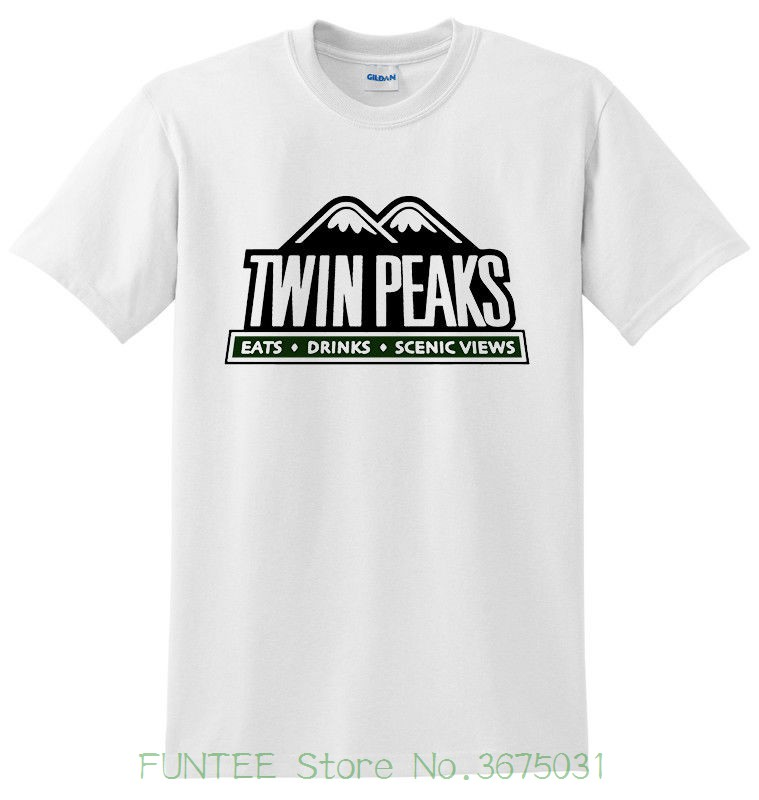 Womens Tee Twin Peaks David Lynch Tv Series White Men T-shirt Size S - 2xl 2018 Kawaii Print T Shirt Women