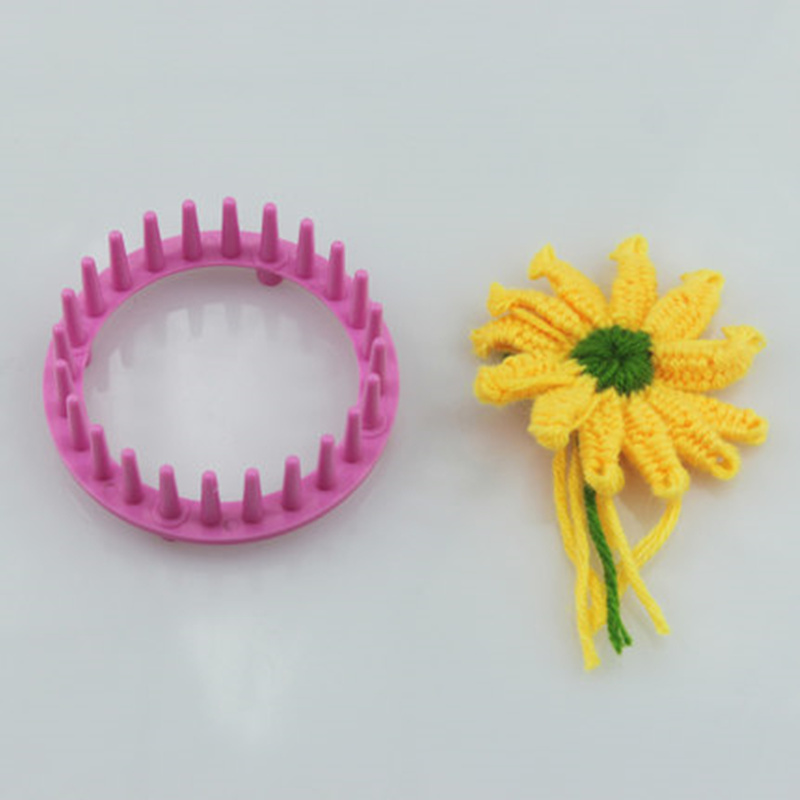 1 Set Knitting Loom Flower Daisy Pattern Maker Knitting Wool Crochet