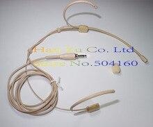 Condensador Headset Headworn Microfone Para Sennheiser Sem Fio Transmissor Body-Pack 3.5mm Parafuso de Bloqueio Plug
