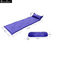 Foldable Pillow Cushion Auto Inflatable Blanket For Outdoor Camping High Quality Stitching Wild Cushions Easy