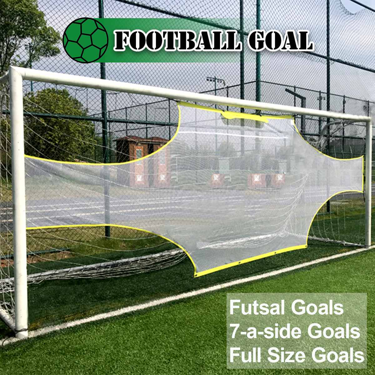 Soccer Target Practice Training Shot Goal Net Portable Soccer Ball for Children Students Soccer Training Tool image
