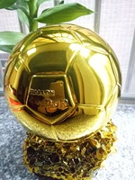 France Football World Player Of The Year Trophy Award Cups Ballon D Or Mr 24cm Soccer