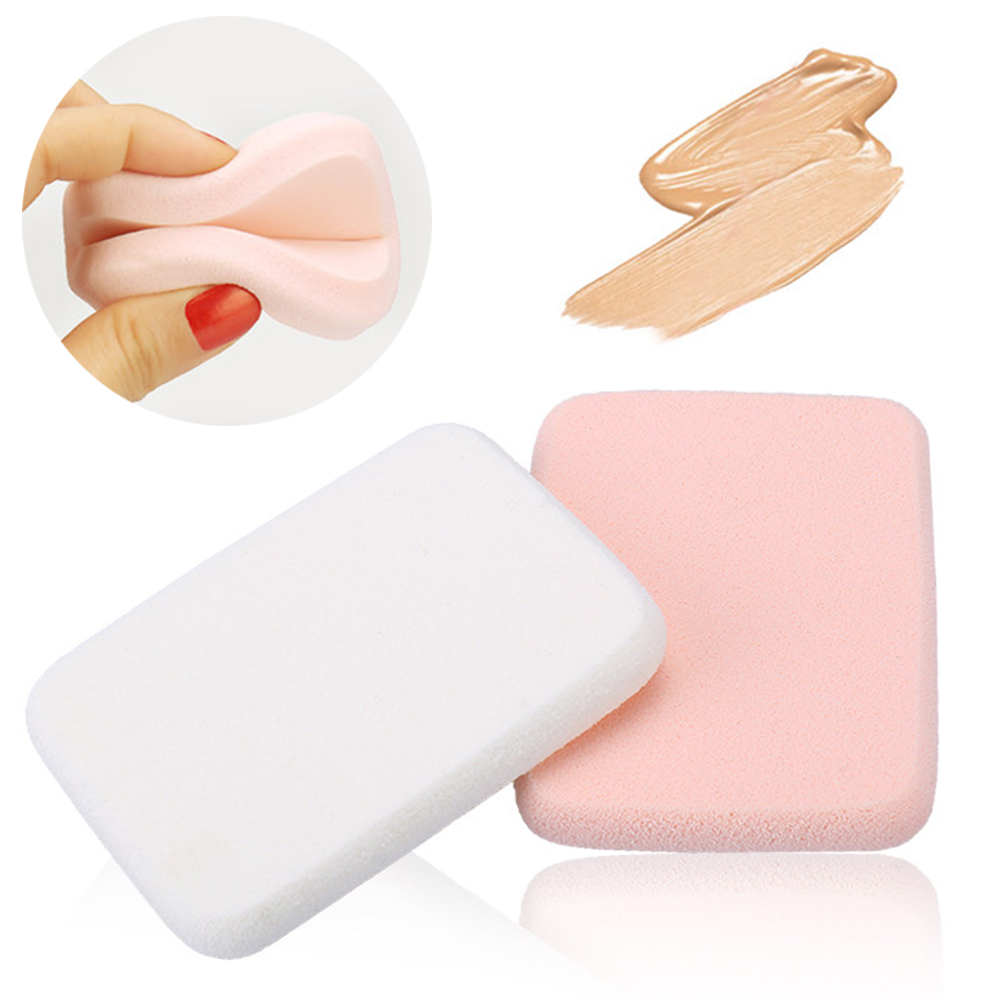 Beauty Essentials Smart High Density Portable Size Dry Wet Use Women Silicone Cosmetic Makeup Puff For Liquid Foundation Bb Cream Durable Hot Sale Cosmetic Puff