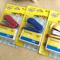FangNymph портативный Kawaii супер мини маленький степлер полезный мини степлер скобы набор канцелярских принадлежностей случайный цвет