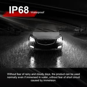 Image 4 - 2PCS רכב פנס מנורת H7 H11 LED H4 H1 H8 HB2 9005 H10 HB3 9006 LED ערפל אור הנורה מנורת אוטומטי פנס COB שבב 36W 6000k 12v