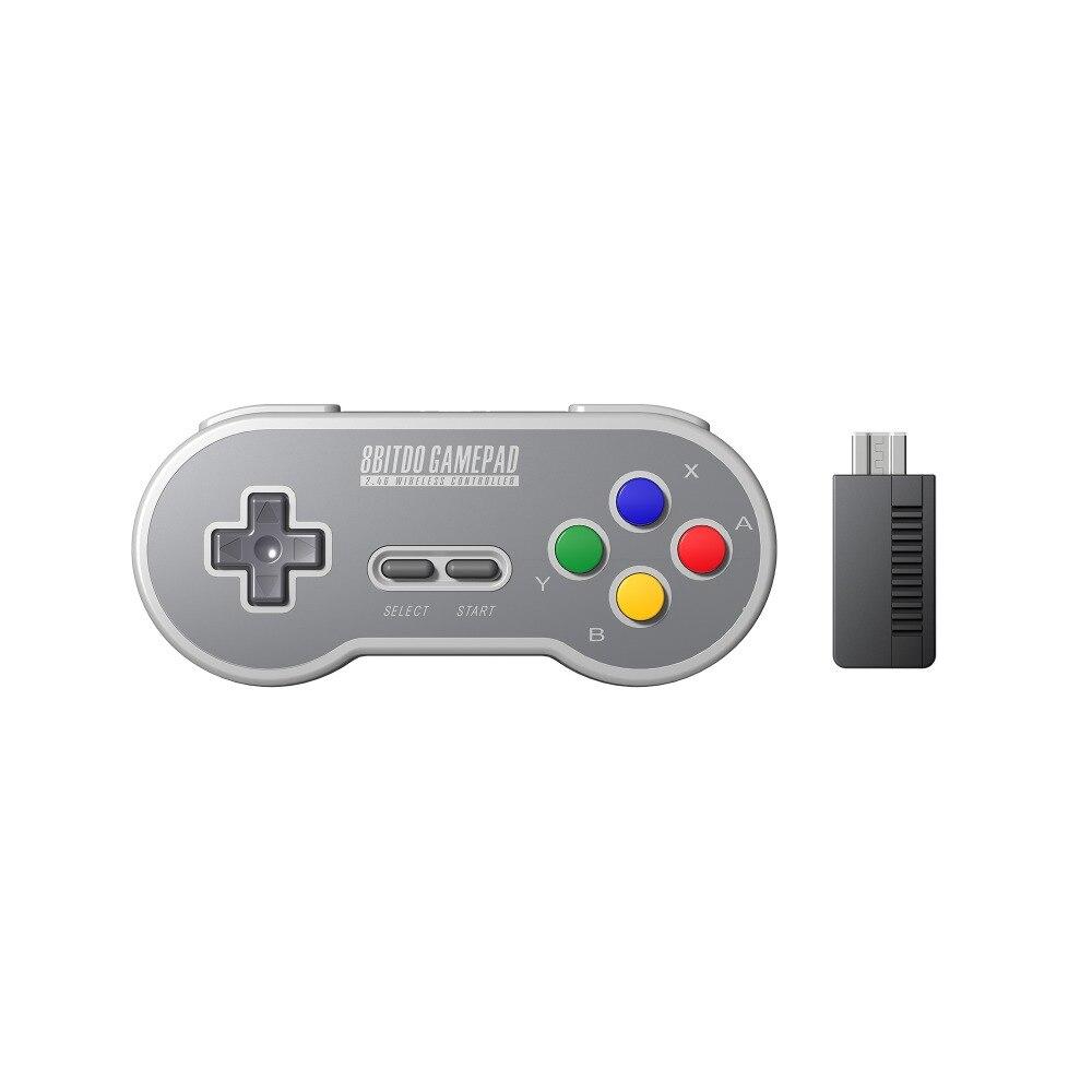 8 BitDo SF30 Gamepad Wireless Game Controller mit 2,4g NES Empfänger für Schalter Android PC Mac
