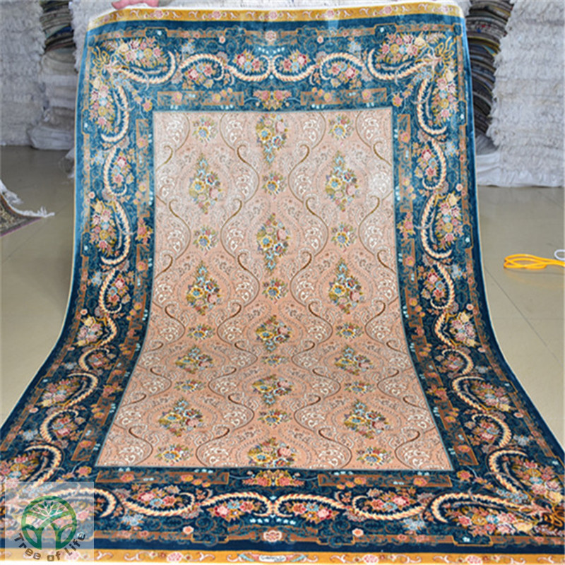 4u0026#39;x6u0026#39; Whole Sale Handmade Silk Oriental Rug Turkish Carpet