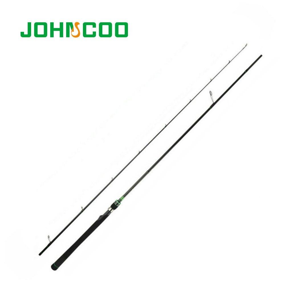 купить Fast Action Spinning 2.4m Carbon Fishing Rod ML 5-21g Spinning Rods For Fishing 2 Sections Lure Rod 133g JOHNCOO Venger Peche по цене 3892.18 рублей