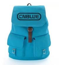 Kpop Cnbule un bleu cartable corée style toile sac à dos école sac à dos