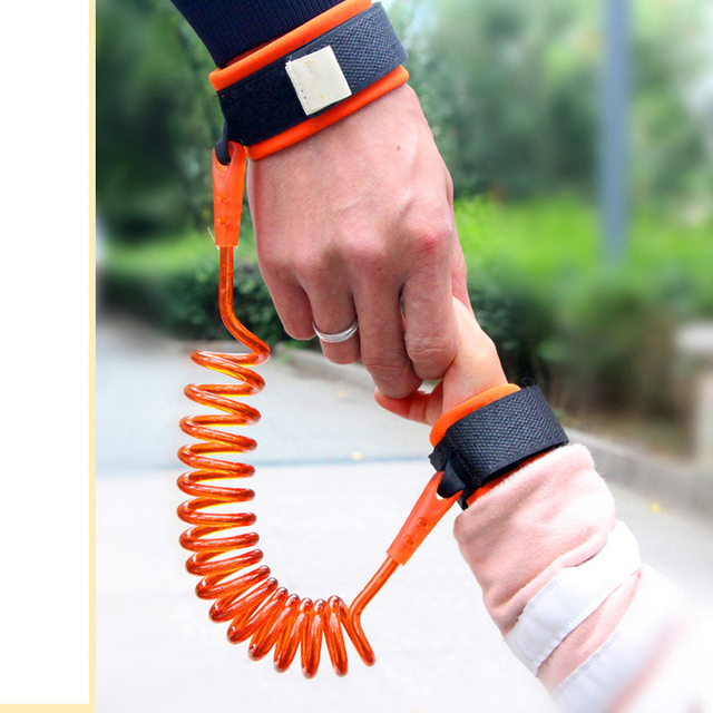 Toddler Baby Kids Safety Harness Child Leash Anti Lost Wrist Link Traction Rope Bracelet Baby Safety