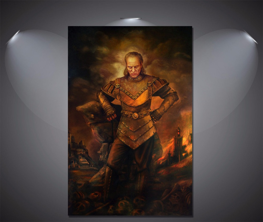 Wall Decor Ghostbusters Vigo the Carpathian Vintage Poster Print Art Decor GIFT image