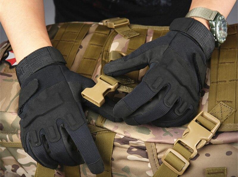 Тактические перчатки армейская военная техника наружные охотничьи перчатки мотоциклист страйкбол пейнтбол оборудование Боевые фитнес перчатки