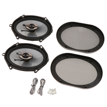 5x7 Inch Car Audio Coax Speakers 2 Way 380W Coaxial Coax Car Stereo Audio System hertz uno x 130 2 way coaxial