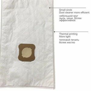 Image 2 - 12 قطعة فراغ نظافة الغبار أكياس ل كيربي الجيل 3 الاصطناعية G3 G4 G5 G6 G7 2001 الماس SENTRIA 2000