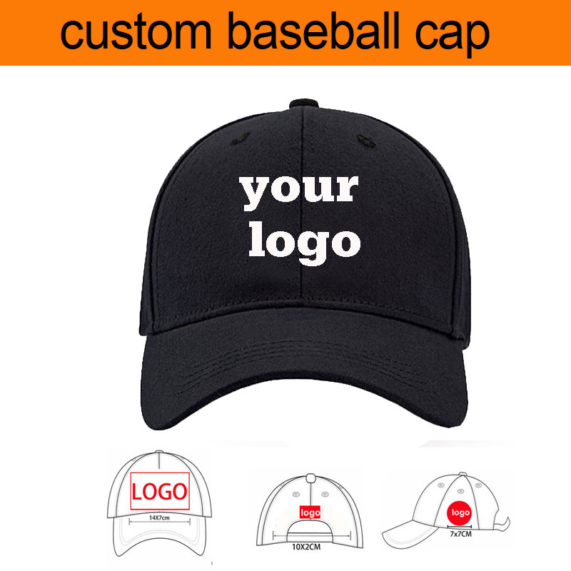 factroy price free shipping cap custom logo custom baseball cap for adult and kids custom cap