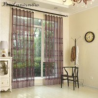 Light Luxury Style Embroidery Curtain Screens With Water Soluble Yarn Special Study Room